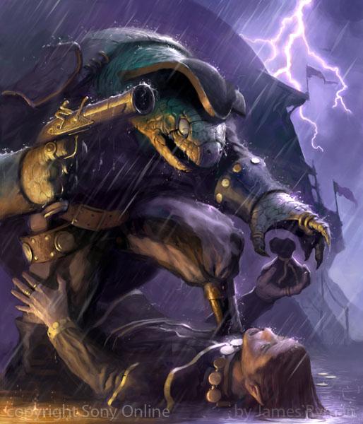 Dread Pirate Mangleshell