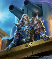 Warcraft TCG - Thassarian by JamesRyman