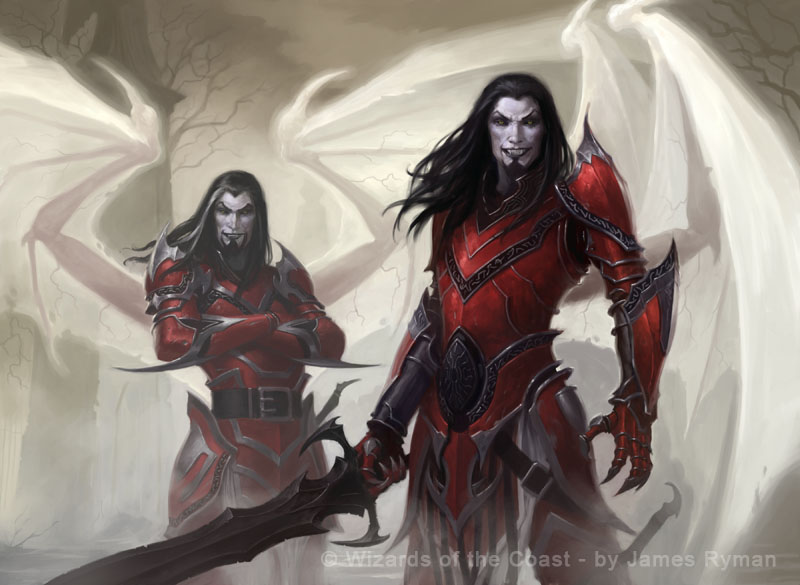 MtG - Falkenrath Marauders by ~namesjames on deviantART