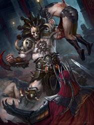 Ghoulish Barbarian V2 by JamesRyman