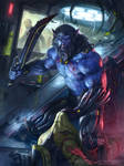 Blue Black Normal version by JamesRyman