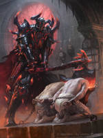 Cassios the Executioner Advanced by JamesRyman