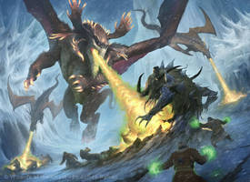 MtG: Fate Reforged - Frontier Siege by JamesRyman