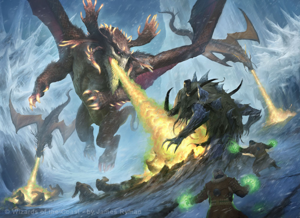 MtG: Fate Reforged - Frontier Siege by namesjames