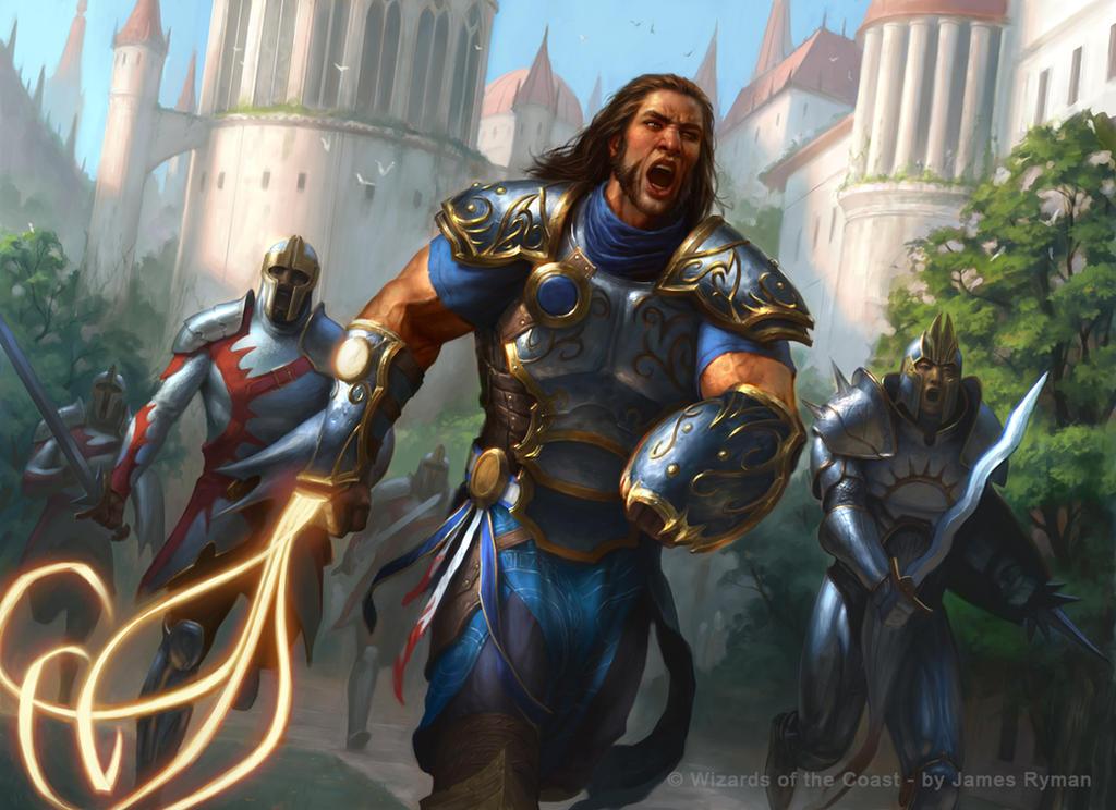 Gideon's Phalanx - Magic Origins by namesjames