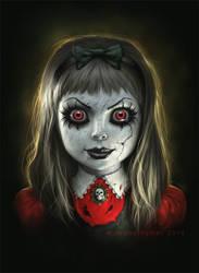 Haunted Doll by JamesRyman