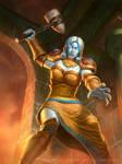 Hearthstone- Ironaya-Keeper of Uldaman