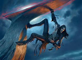 MtG: Vampire Berserker by JamesRyman