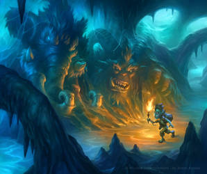 Hearthstone - Ice Cavern Quest by JamesRyman