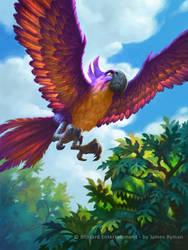 Hearthstone - Jeweled Macaw by JamesRyman