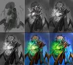 Venomancer sketch steps