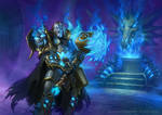 Hearthstone - Death Knight Uther