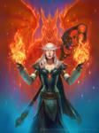 Hearthstone - Dragoncaller Alanna