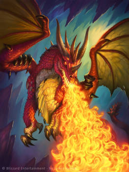 Hearthstone - Fire Dragon