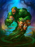 Face Collector for Hearthstone: The Witchwood by JamesRyman
