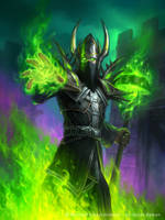 Archmage Arugal for Hearthstone: The Witchwood by JamesRyman