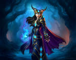 Countess Ashmore for Hearthstone: The Witchwood