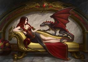Dragon Companion by JamesRyman
