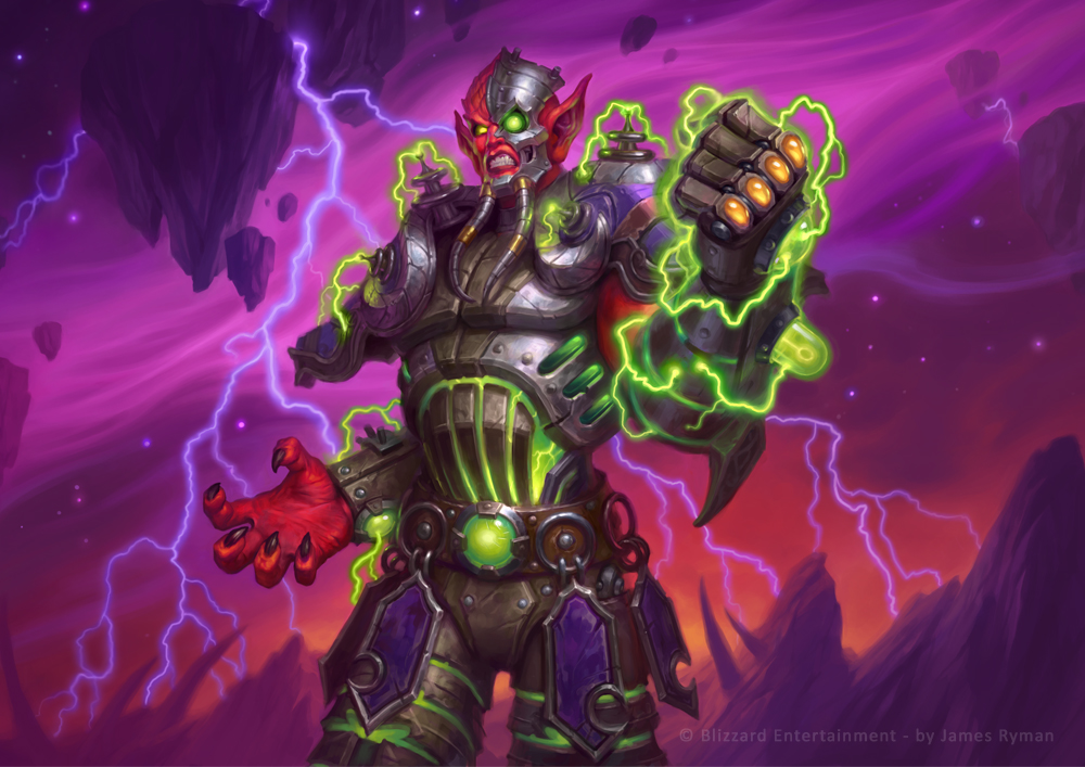 Mecha-Jaraxxus by namesjames