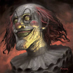 Evil Clown by JamesRyman