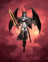 Dark Warrior by JamesRyman