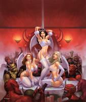 Angels at the Club Diablo by JamesRyman