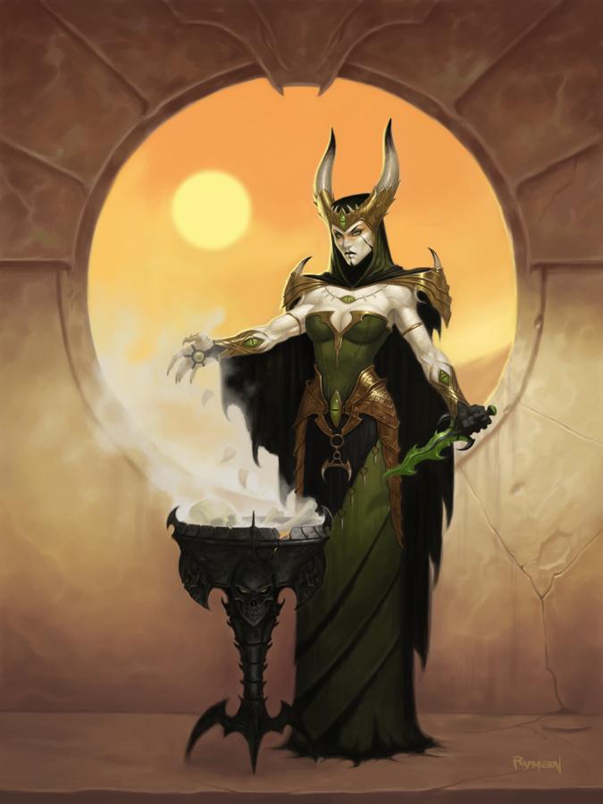 Dark Sun Witch by namesjames