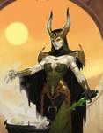 Dark Sun Witch detail