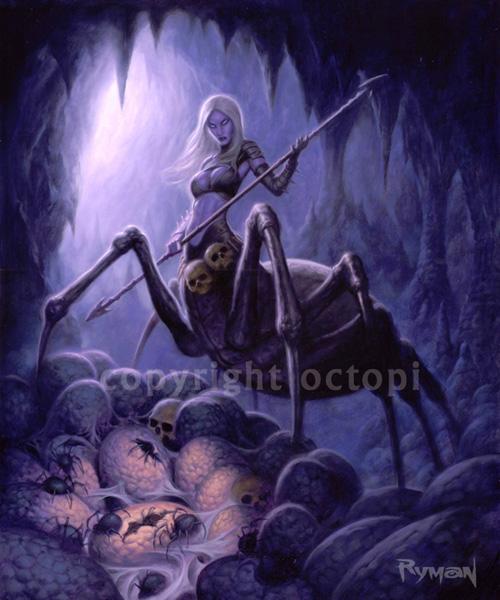 Spider Demoness by namesjames