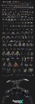 NEW GUIDES - Xenoblade Chronicles X + Enemy Poster