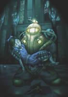 Bioshock La Piedad by DakzpeR