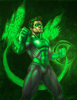 Green Lantern by DakzpeR