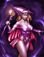 Dark Magician Girl by DakzpeR