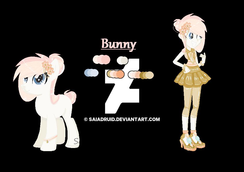 Reference Sheet - Bunny by Saiadruid