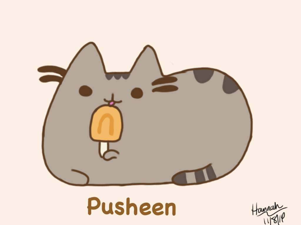 Mystery of thanksgiving to god - Pusheen ipad wallpaper ...