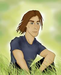 Christian Bale as Bobby Platt by EcFeline