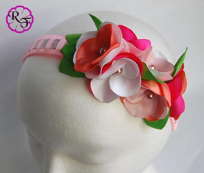 kanzashi flower headband by MALUQUI on DeviantArt