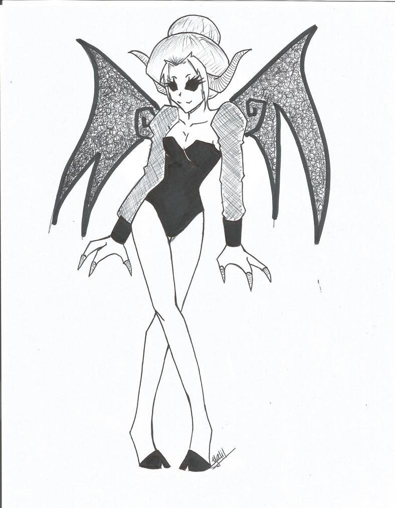 Demon1 by YokoWarashi