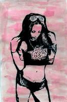 Sasha Banks Fanart by isslove