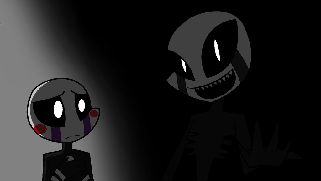Fnaf puppet and nightmare puppet by nyenyec2001 on deviantart