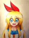 Happy Chitoge by MidoriiArt