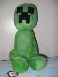 Creeper Plushie by GrimmEverafter
