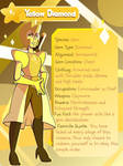 Yellow Diamond Info Card