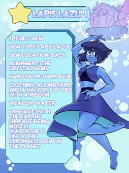 Lapis Lazuli Info Card
