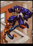 Lakcoo2u's Spidey vs Venom