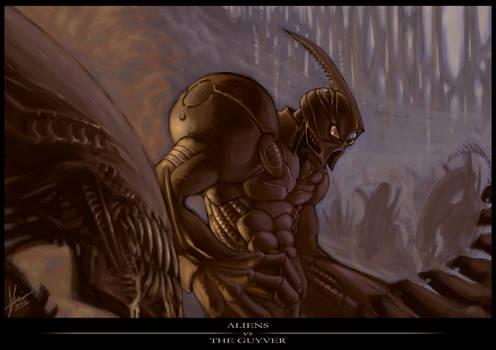 Aliens vs The Guyver
