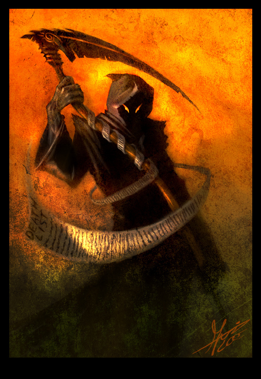 grim reaper by blackpoint