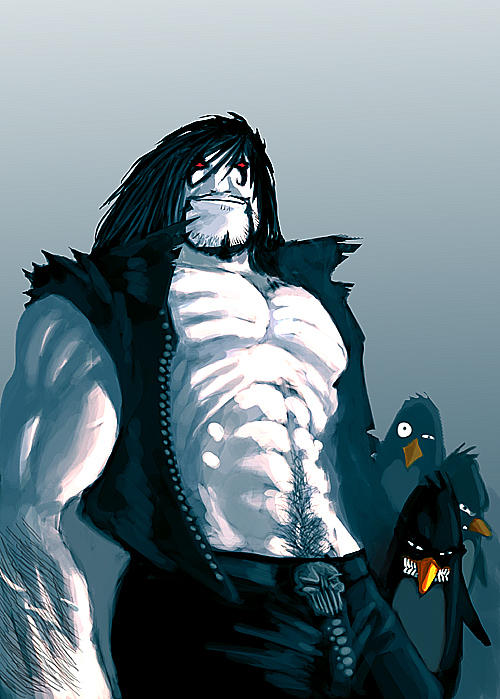Part 14 / 10 Lobo_and_the_penguins_by_blackpoint