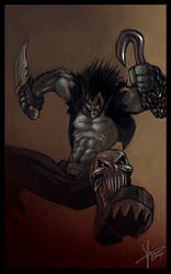 lobo fanart by blackpoint