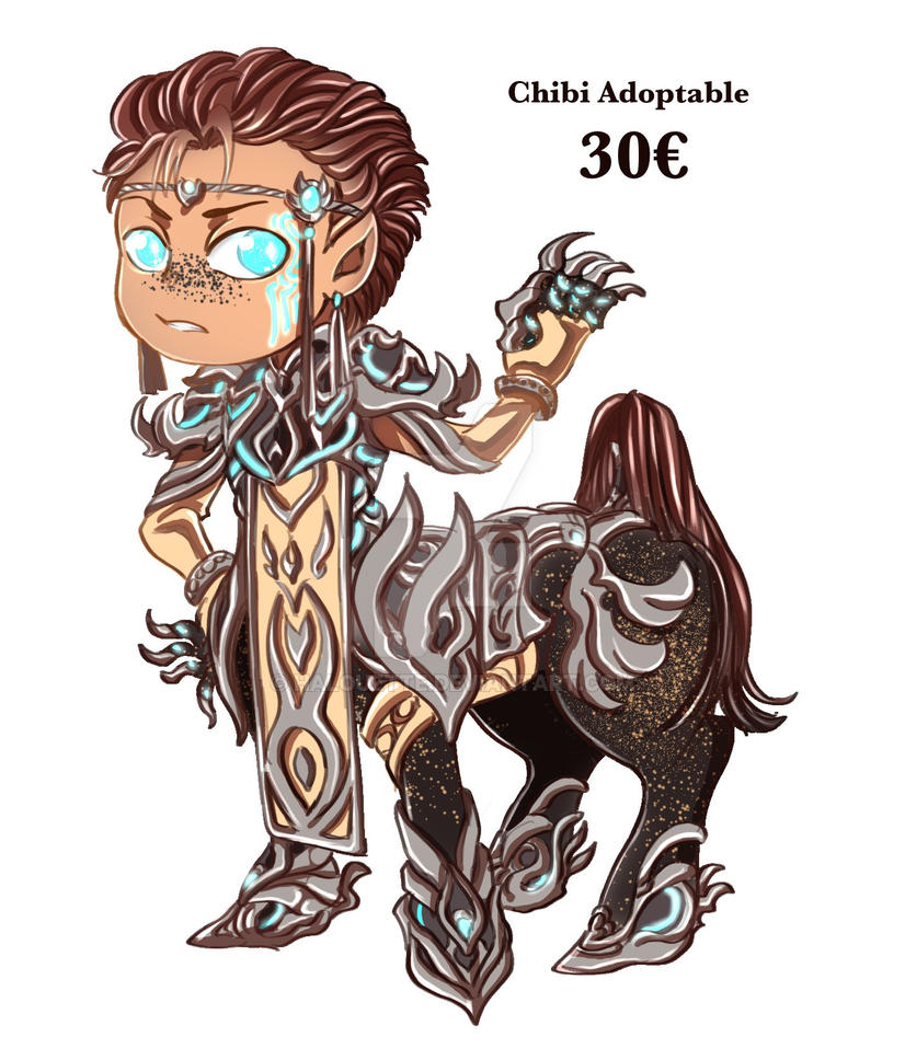 Chibi Centaur Adoptable [OPEN] by Halouette
